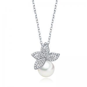 Colier Fleur Pearl Lux Borealy0