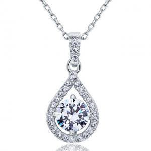 Colier Borealy Argint 925 Diamond Halo Infinity One0