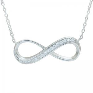 Colier Infinity Argint 925 Borealy0