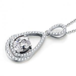 Colier Borealy Argint 925 Diamonds Infinity1