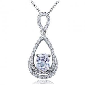 Colier Borealy Argint 925 Diamonds Infinity