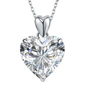 Set Cercei Heart si Colier Love Heart Borealy Argint 9251