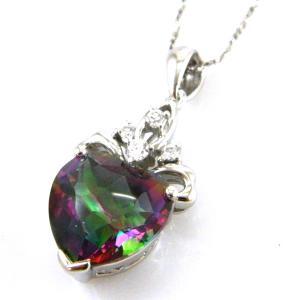 Colier My Mistic Heart Topaz 6,60 carate Argint 9252
