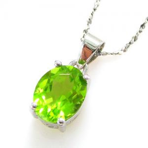 Romantic Peridot Natural Colier1