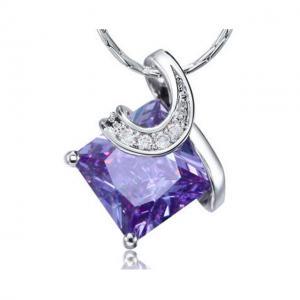 Colier Borealy Purple Sapphire Princess0