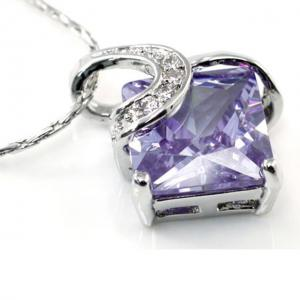 Colier Borealy Purple Sapphire Princess1