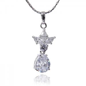 Colier Borealy Diamonds Princess White0