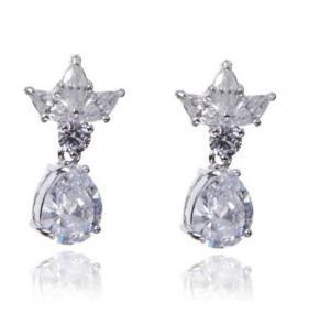 Cercei Princess White Diamonds0