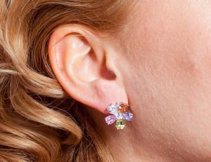 Cercei Borealy Sapphire Colours Fleur2
