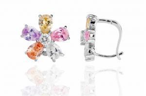 Cercei Borealy Sapphire Colours Fleur4