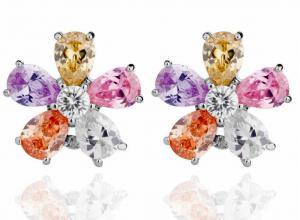 Cercei Borealy Sapphire Colours Fleur1