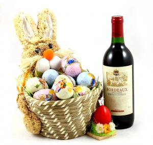 Cadou Egg Gift Basket0
