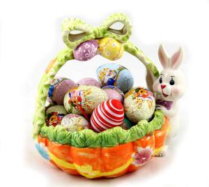 Cos Cadou Ferrero Ceramic Gift Basket3