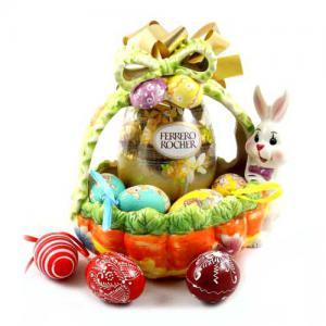Cos Cadou Ferrero Ceramic Gift Basket0