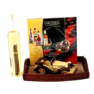 Cigar Holder Manual Bottle - Sticla Lucrata Manual1