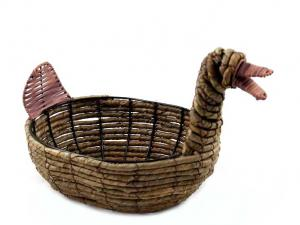 Cos paste Easter Duck Gift Basket1