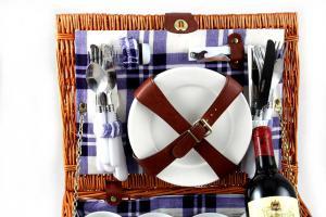 Coş picnic 4 persoane Alpi4