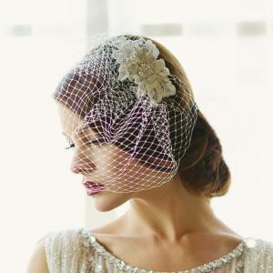 Couture Birdcage Veil Agrafa1