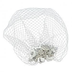 Couture Birdcage Veil Agrafa0