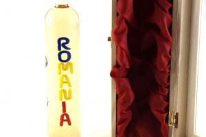 Sticlă Ţuică Romanian Treasure - Sticla Lucrata Manual1