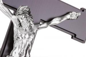 Cruce Argint Iisus Hristos Valenti - Made in Italy1