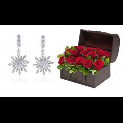 Cufăr 19 Happy Roses & Cercei Lotus Borealy0