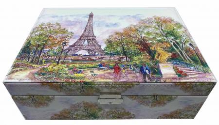 """Cutia de Bijuterii """"Turnul Eiffel""""0"""