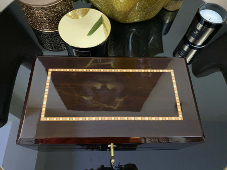 Cutie 12 ceasuri Luxury Golden Wood [4]