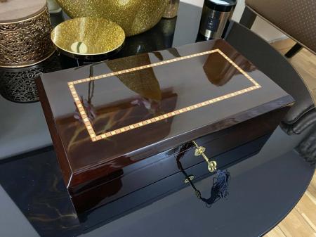 Cutie 12 ceasuri Luxury Golden Wood [3]