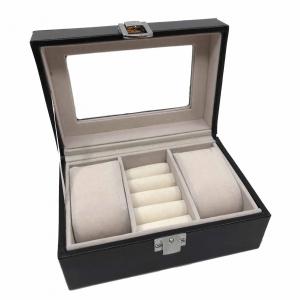 Cutie 2 ceasuri lemn by Borealy - personalizabil0