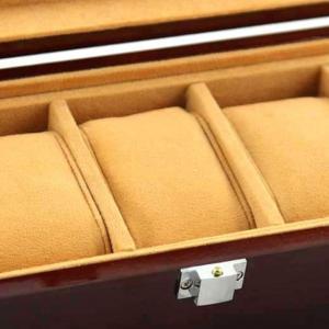 Cutie 5 ceasuri lemn Luxury2