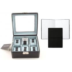 Set Cutie 6 Ceasuri Bond Glass by Friedrich si Note Pad Black Hugo Boss - personalizabil