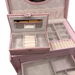 Cutia de bijuterii Elegant Pink by Borealy4