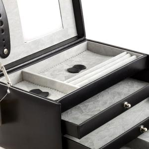 Cutie de bijuterii Classico Luxury Black by Friedrich - Made in Germany2