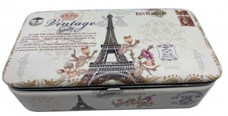 Cutie de bijuterii Eiffel Tower Vintage0
