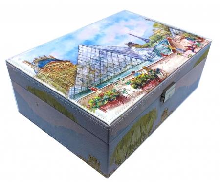 Cutie de Bijuterii Louvre Big - 30 cm x 21 cm3