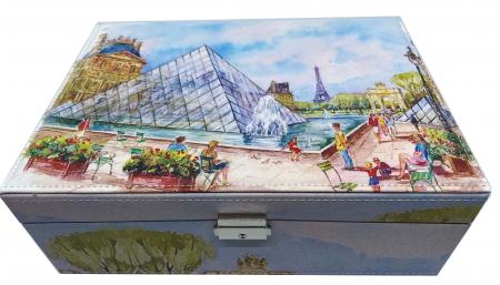 Cutie de Bijuterii Louvre Big - 30 cm x 21 cm1