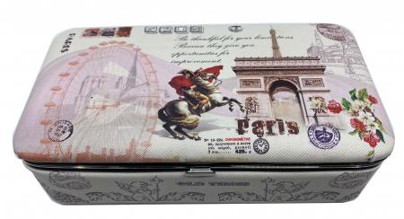 Cutie de bijuterii Vintage Paris Card0