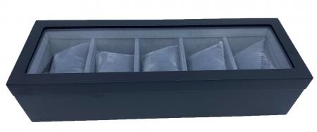 Cutie pentru 5 ceasuri Black Velvet0
