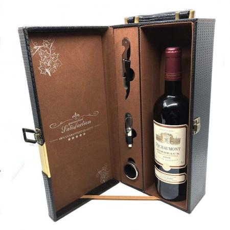 "Cutie Vin Premium 3 Accesorii + Carte ""Expert in vin in 24 de ore"" JANCIS ROBINSON + Vin Chianti sec rosu 0.75 l [1]"