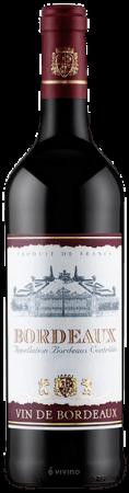 Cutie Vin Brown Treasure Chest cu 4 Accesorii & Vin Bordeaux Sec Rosu 0,75 ml [7]