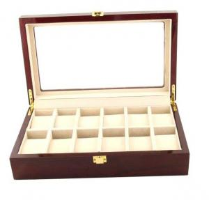 Set cutie 12 ceasuri lemn Brown Wood si Note pad Hugo Boss - personalizabil1