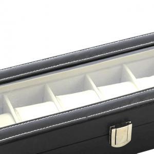 Cutie 6 ceasuri piele capac transparent - personalizabil5