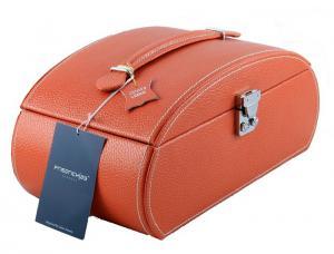 Cutie Bijuterii Leather Orange by Friedrich - Made in Germany2