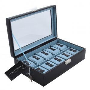 Cutie 10 ceasuri Bond Blue by Friedrich, made in Germany, si Note Pad Hugo Boss - personalizabil [1]