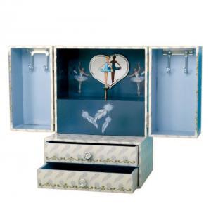Cutie Muzicală Bijuterii Balerină Bleu&  Pandantiv 20 mm Blue Star5