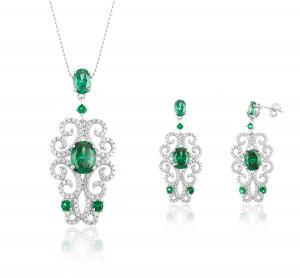 Dantelle Emerald Set by Borealy0