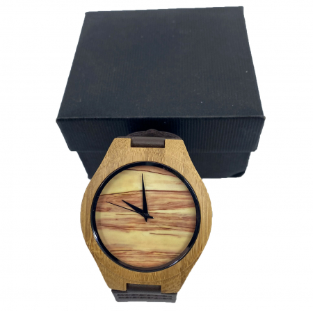 Wood Watch for Men - Ceas lemn ecologic personalizabil0