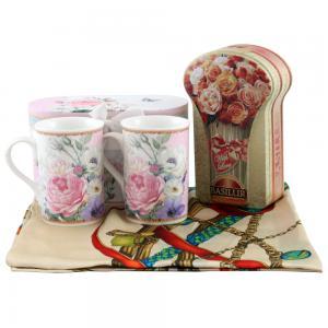 Delicate Roses & Basilur Tea
