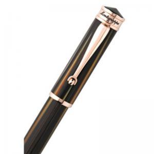 Set Ducale Brown Emperador Rose Gold Ballpoint Montegrappa si Note Pad Hugo Boss1